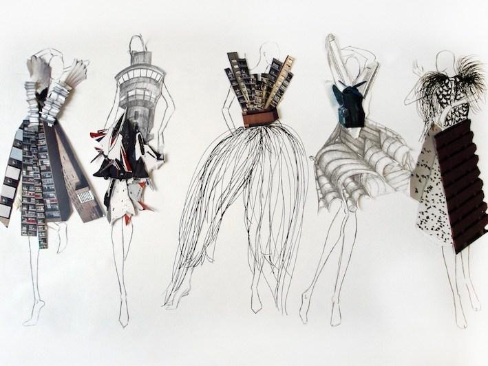 Fashion Illustration - London Art Portfolio