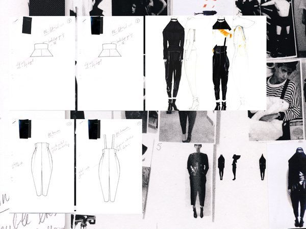 fashion design portfolio examples pictures to pin on