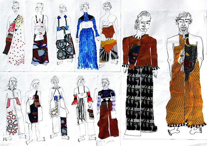 Fashion Mood Boards London Art Portfolio