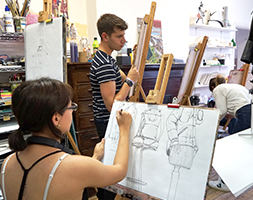 Half Term Drawing and Painting Class